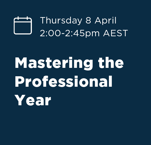 Mastering the Professional Year